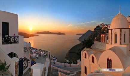 Santorini day trip from Chania