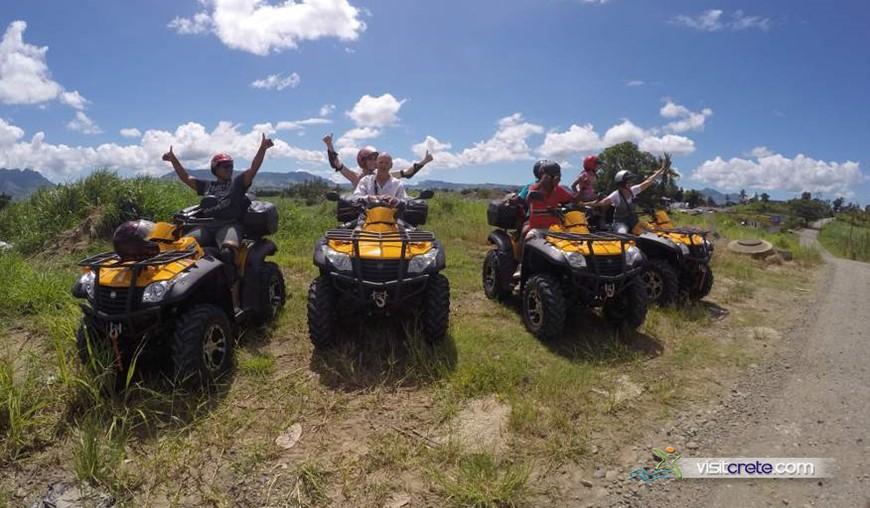 Quad Safari from Malia (For two persons)