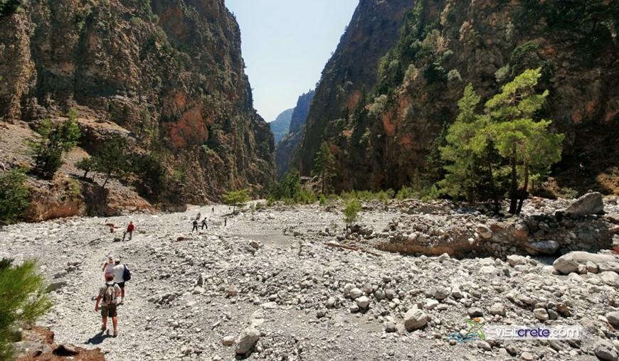 Samaria Gorge Excursion from Agia Pelagia