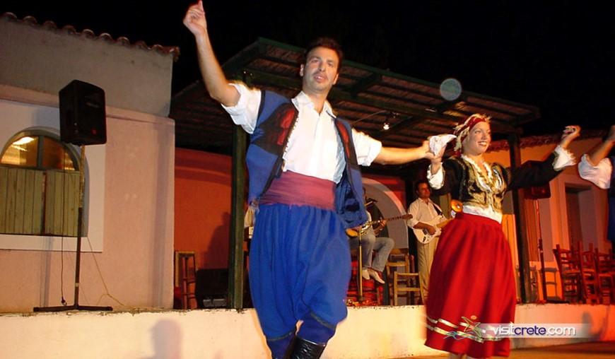 Cretan Folklore Show Traditional Village Karouzanos